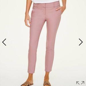 ann taylor loft modern skinny ankle pants blush 4